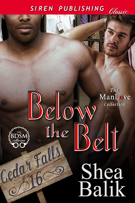 Below the Belt front cover