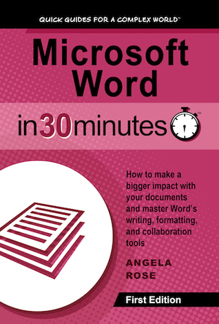 Microsoft Word in 30 Minutes Cover, review