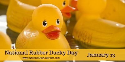 National Rubber Ducky Day banner
