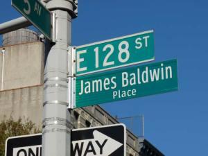 James Baldwin Street Sign
