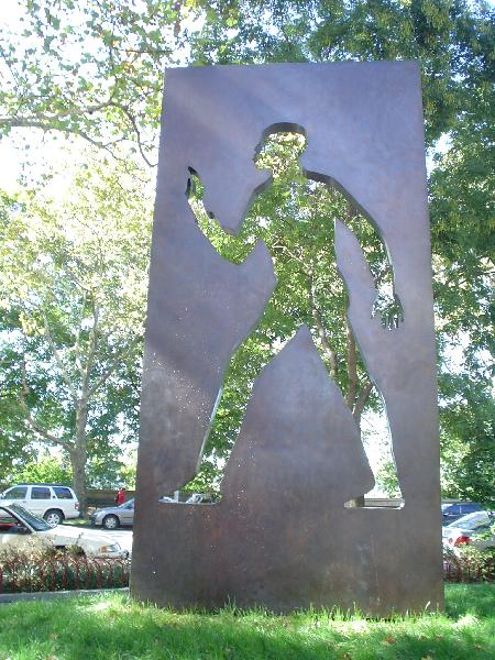 Invisible Man Monument