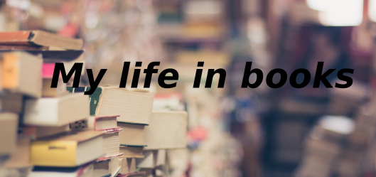 My Life in Books banner