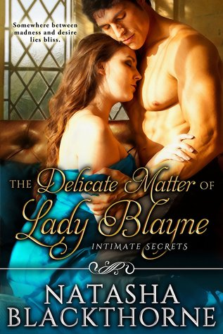 Delicate Matter of Lady Blayne cover