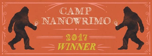Camp NaNo Winner Banner