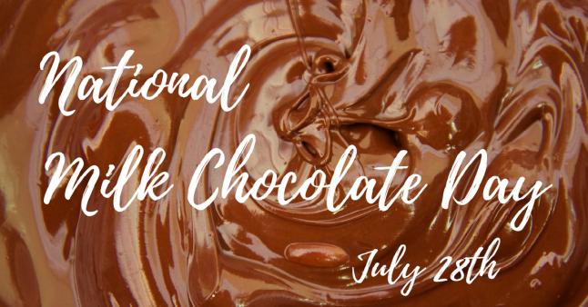 Milk Chocolate Day banner