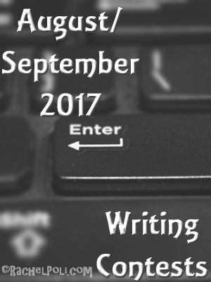 Writing contests for August and September 2017