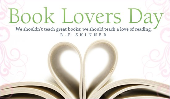 Book Lovers Day banner