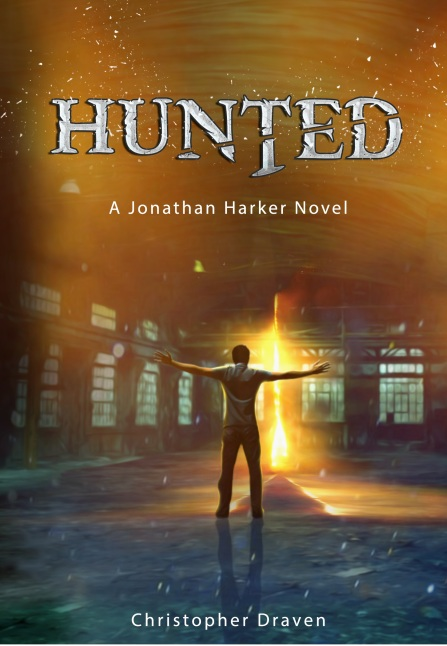 Hunted front cover