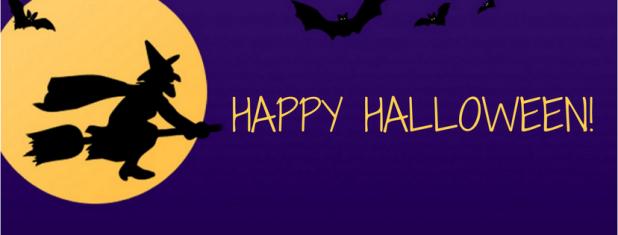 Hapy Halloween banner