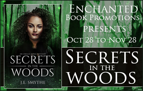 Secrets in the Woods banner