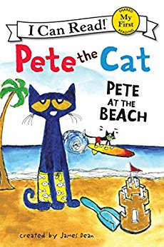 Pete the Cat_at the Beach cover