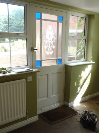 The Cheesemaker's House - Garden Room Door