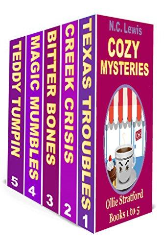 Ollie Stratford 5 book set cover