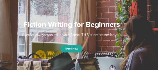 fiction writing screenshot
