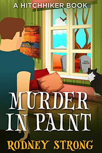 Murder in paint cover