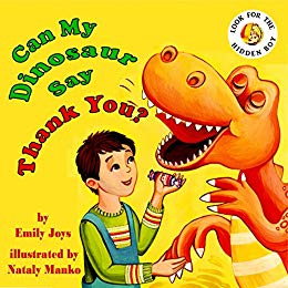 Can My Dinosaur Say Thank You cover