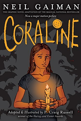 Coraline graphic Novel cover