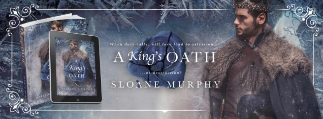 A King's Oath banner