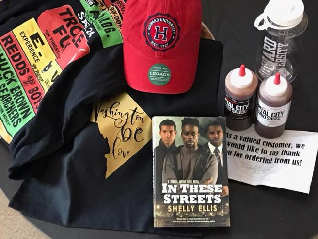 In These Streets giveaway prize