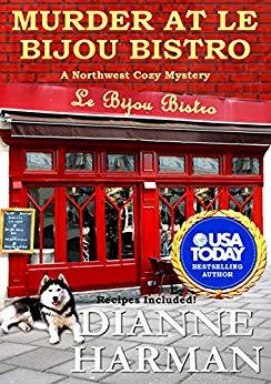 Murder at Le Bijou Bistro cover