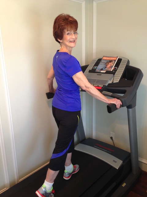 DiAnn on treadmill