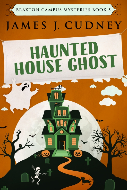 Haunted House Ghost cover