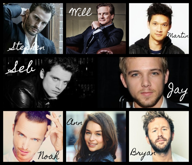 Dream cast collage