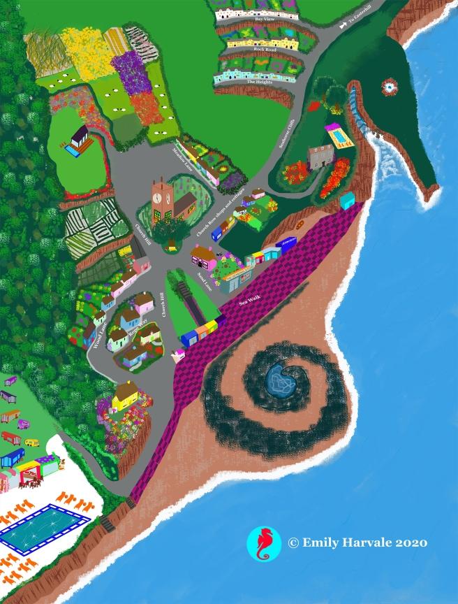 Seahorse Harbor map
