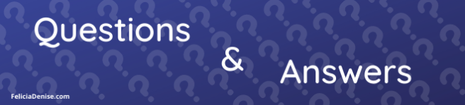 Q and A banner
