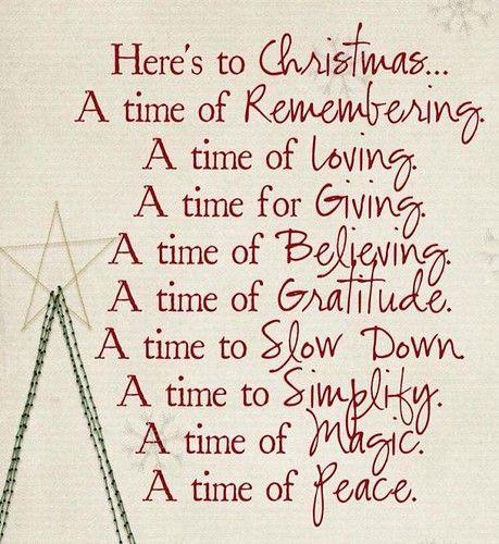 Here's to Christmas
